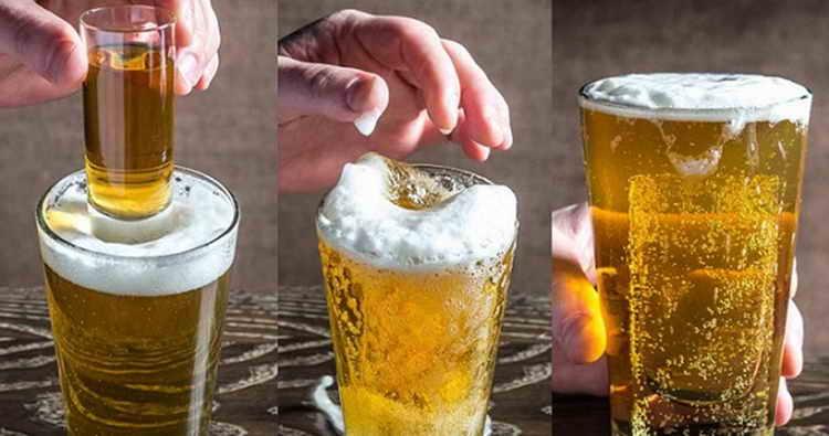 коктейлі з пивом Повний нокаут