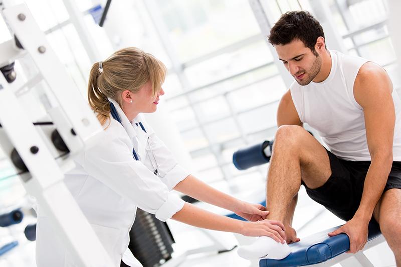 Комплексная реабилитация после перелома ноги