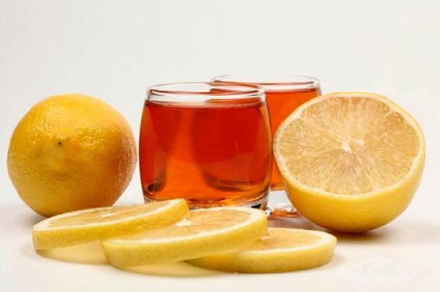 Коньяк з лимоном