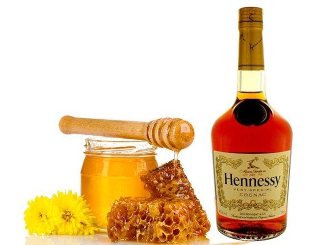 коньяк з медом