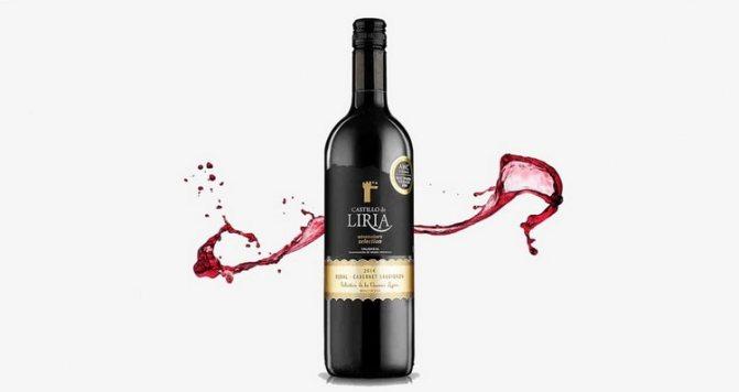 червоне грузинське сухе вино