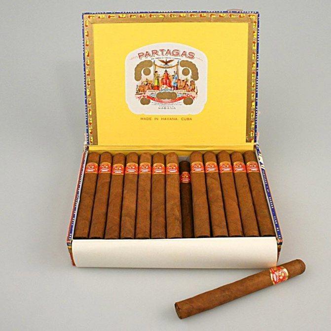 Кубинські сигари Partagas (Партагас)