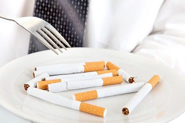 куріння і їжа