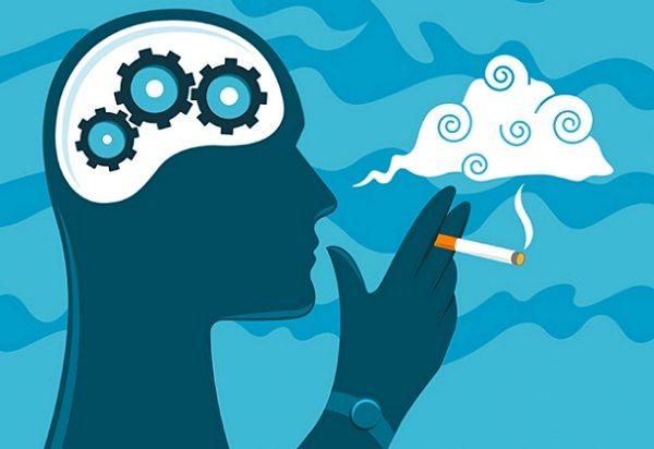 куріння і мозок людини
