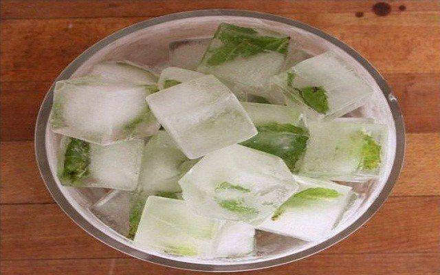 лід з м'ятою