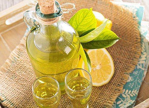 лимонна настоянка