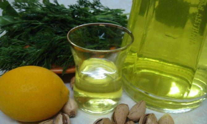 лимонна горілка