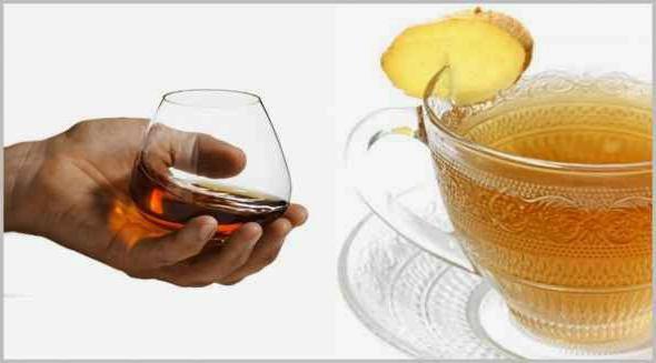 ложка коньяку в чай
