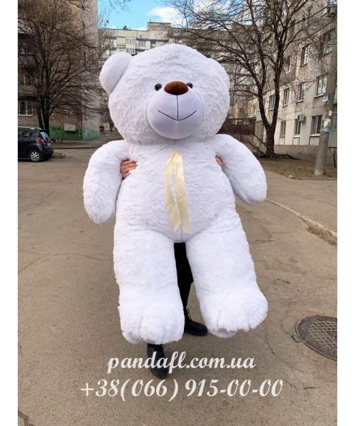 Белый мягкий Мишка 200 см для ребенка