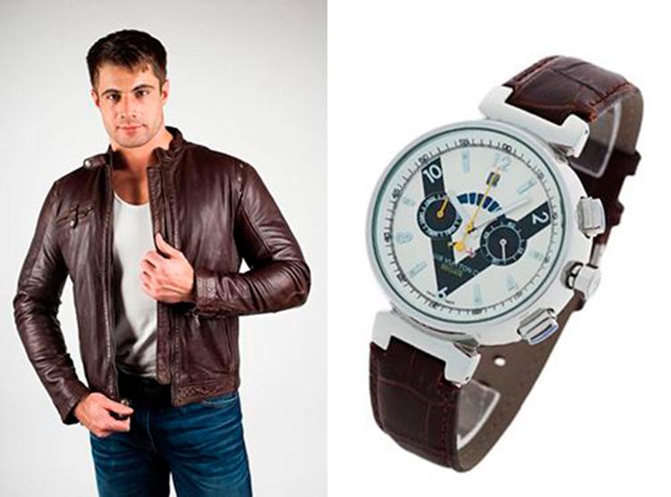 Стильные мужские часы Louis Vuitton