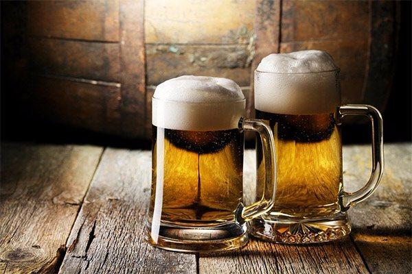 Чи можна пити пиво в лазні