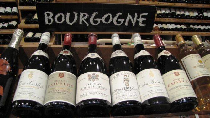 Назви французьких вин