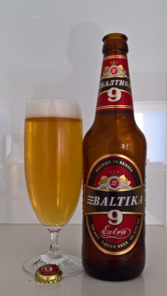 Огляд пива Балтика 9