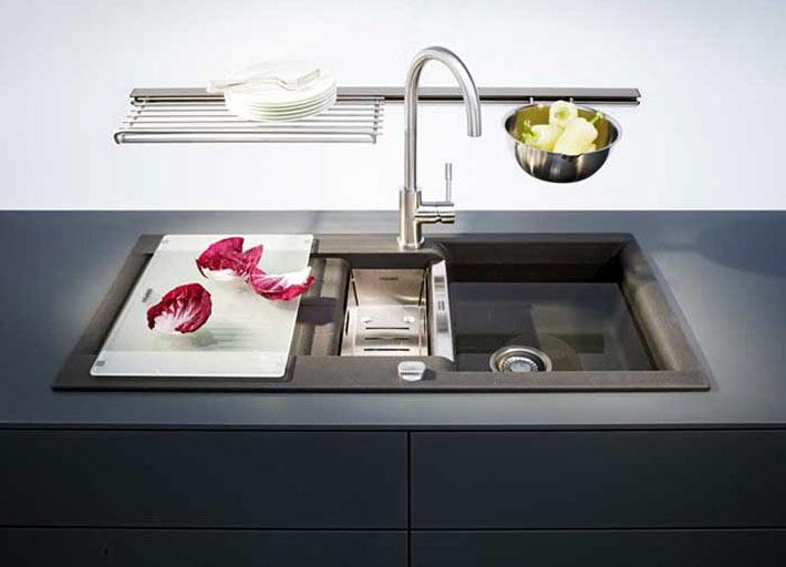 Современный дизайн кухонной мойки Franke