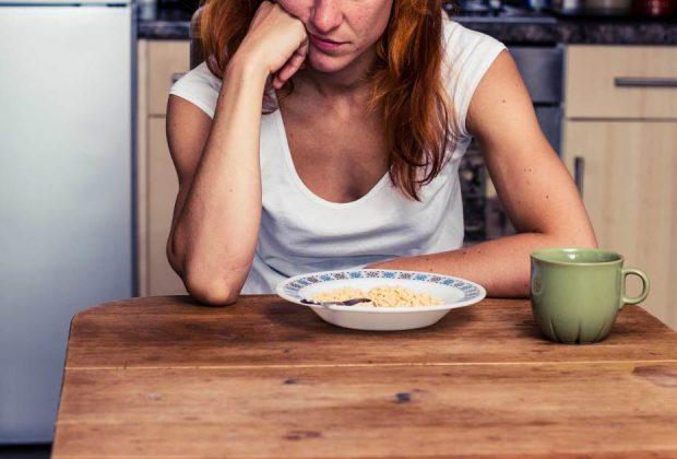 Отсутствие аппетита при наркотической зависимости