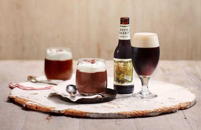 пиво и десерт