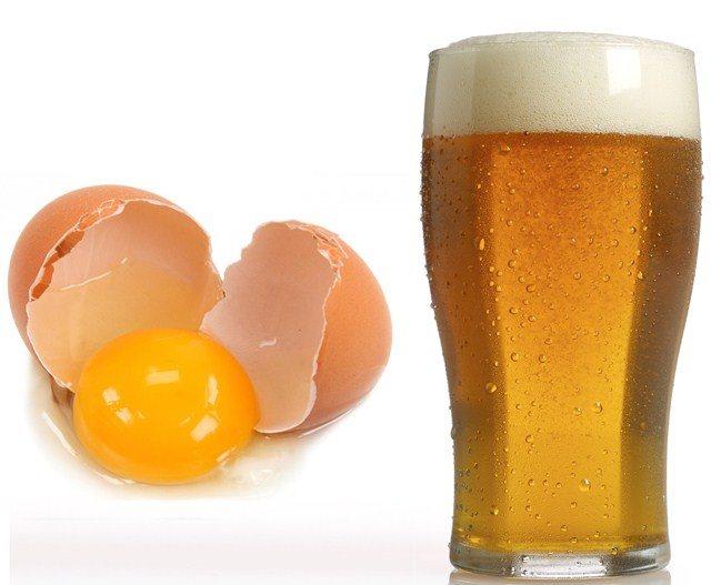 Пиво і яйце