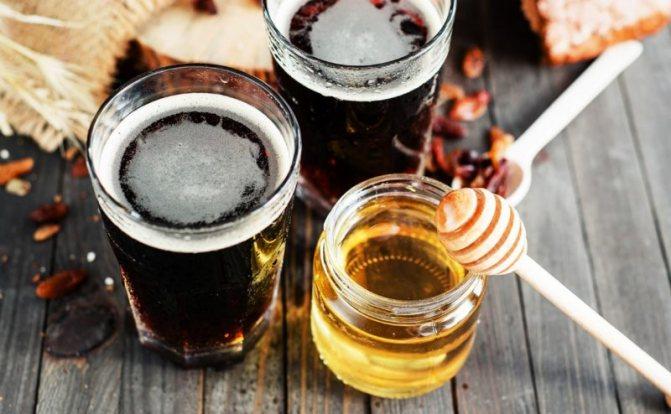 Пиво з медом