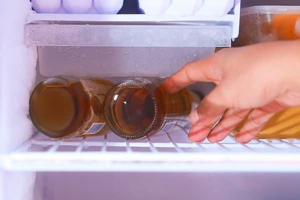 Пиво в холодильнику