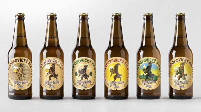 Пиво Велкопоповицький Козел