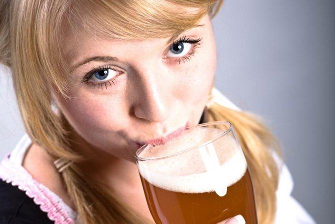 Користь і шкода пива для жіночого організму