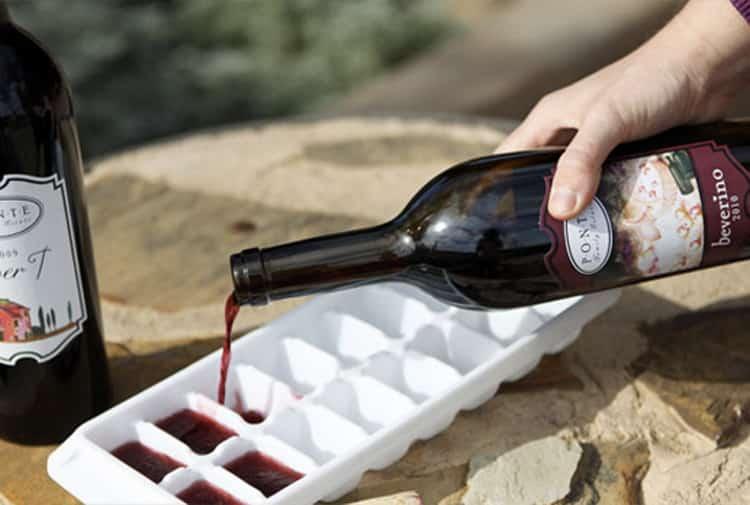 при якій температурі замерзає вино