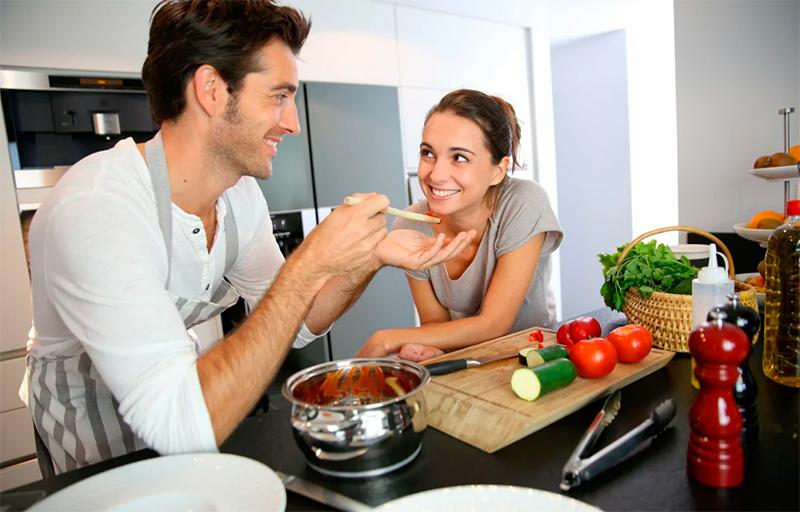 Приготовление салата из овощей по новому рецепту