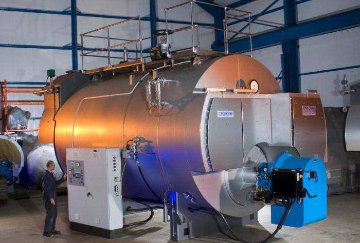 Промышленные котлы газовые