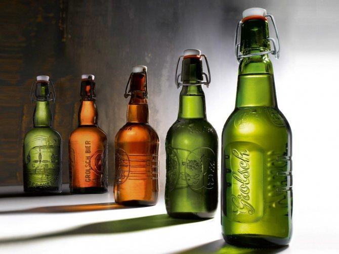 Різноманітність пляшкового пива
