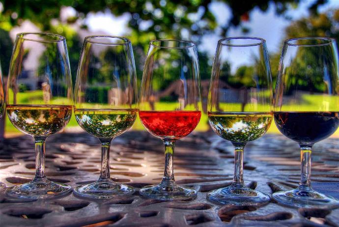 Різновид вин за кольором