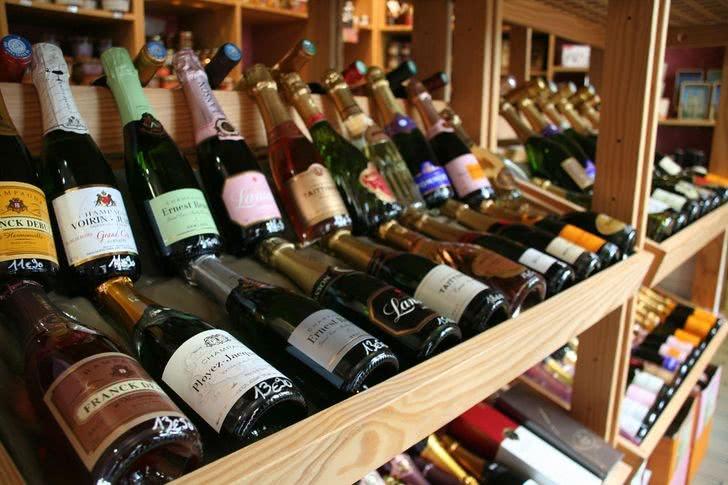 Різні сорти шампанського