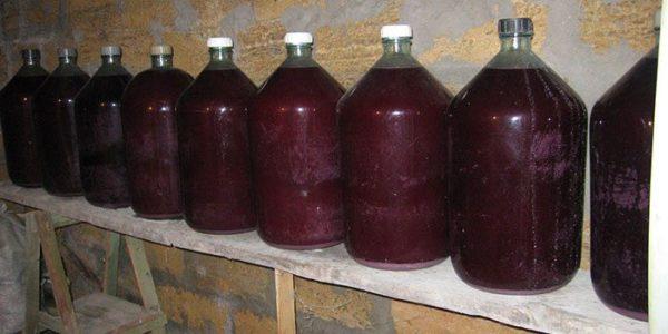 Рецепт Приготування вина з калини