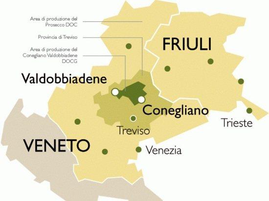 Регіони виробництва знаменитого ігрістого вина