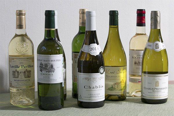 Рейтинг білих сухих вин