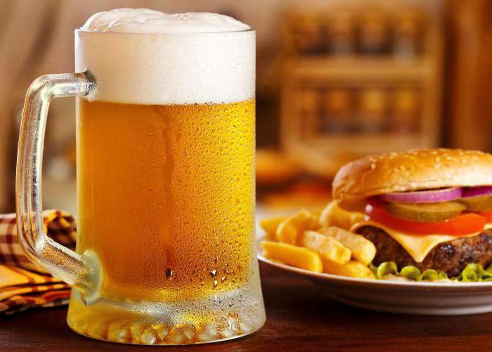 з чим пити пиво