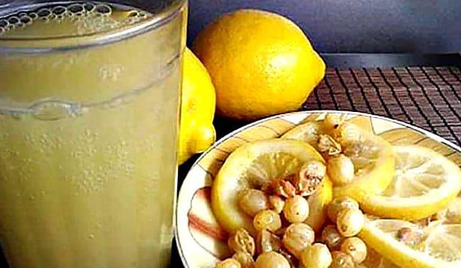 з лимоном і родзинками