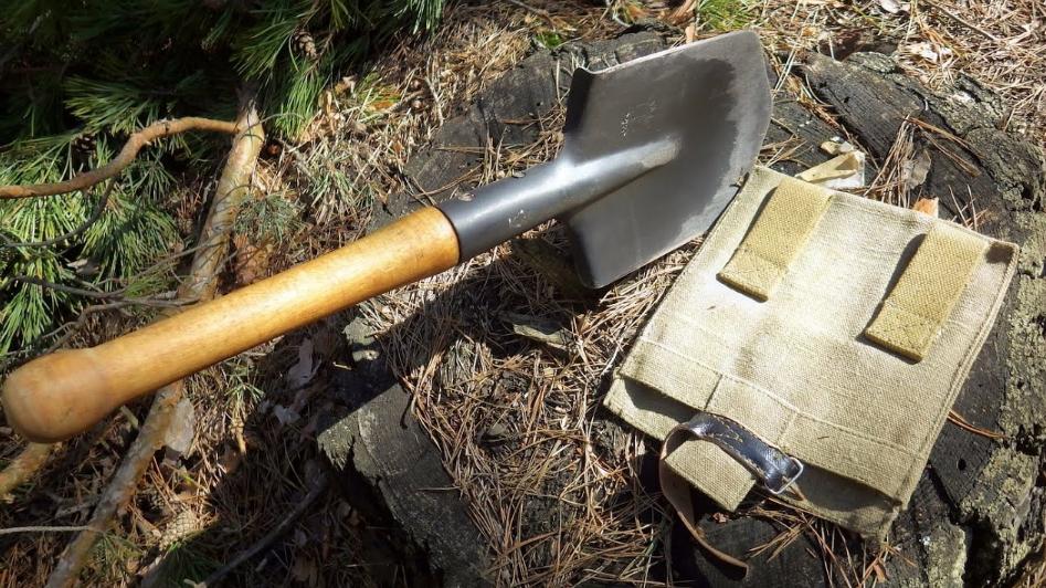 Саперная лопата для туризма