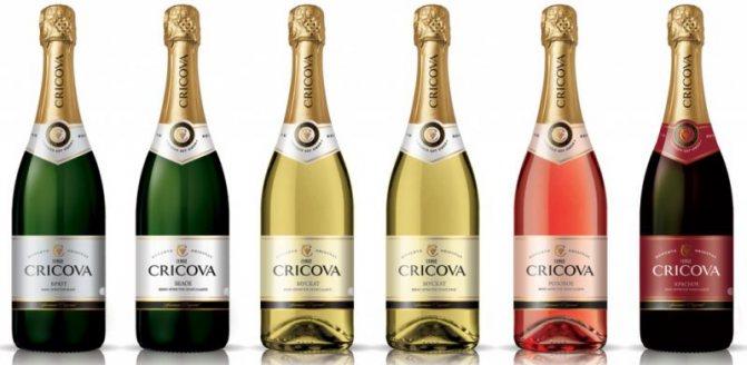 шампанське Cricova