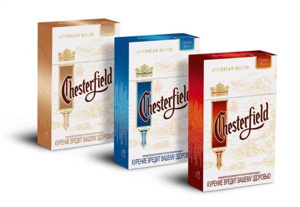 Сигарети Chesterfield, Честерфілд