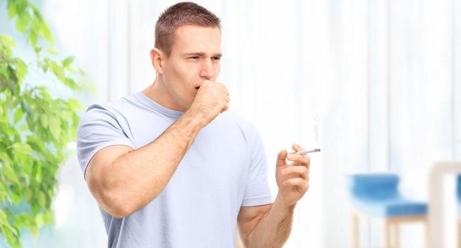 Сильний кашель при палінні