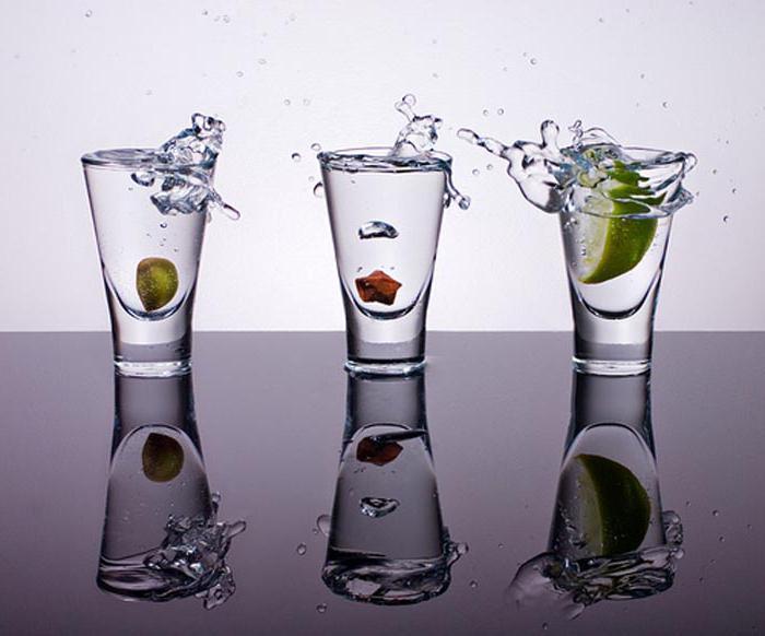 Скільки відсотків спирту в горілці
