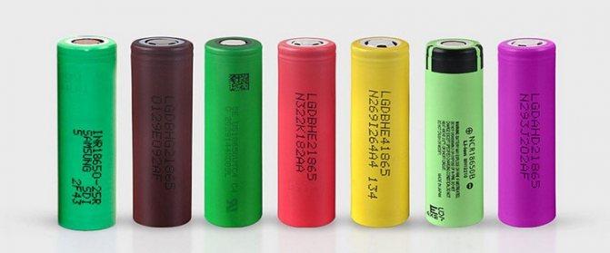 Змінні акумулятори для вейпа