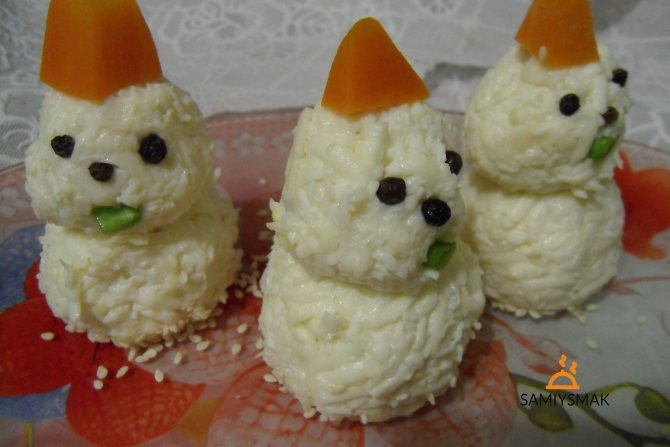 Сніговики на закуску