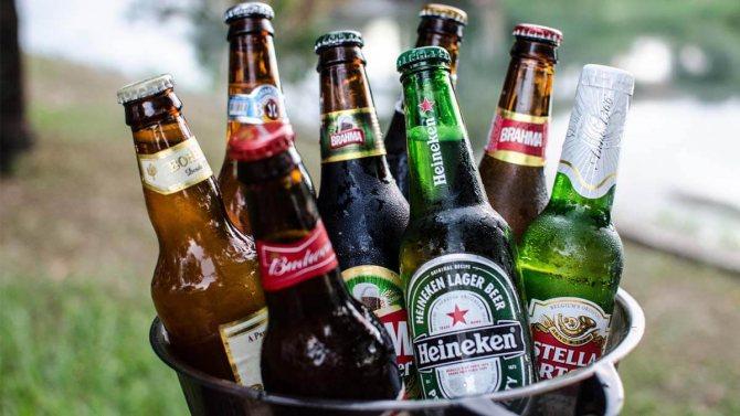 Вміст етилового спирту в пиві