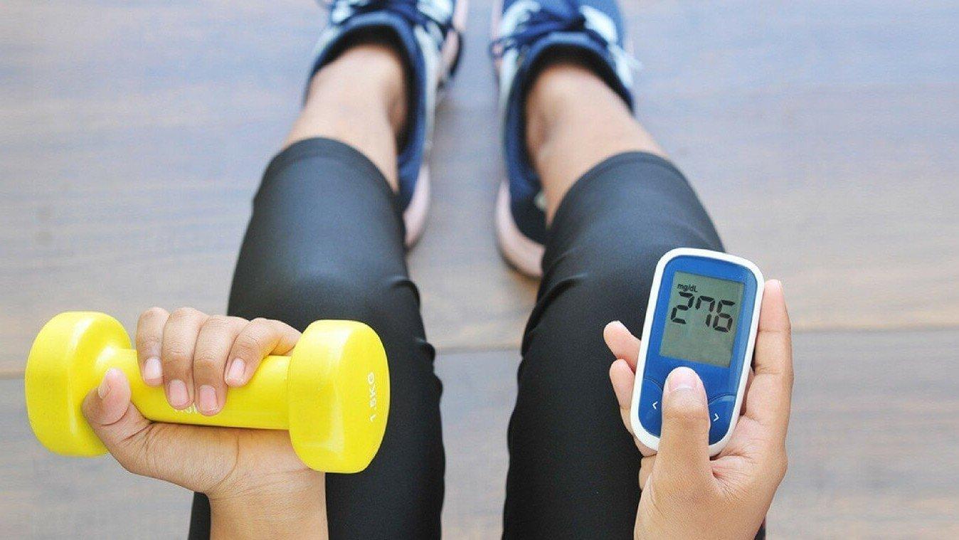 Занятия спортом при сахарном диабете