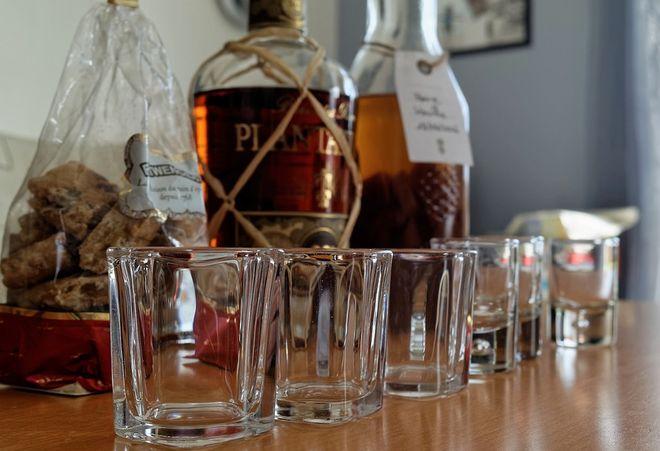 Склянки для рома