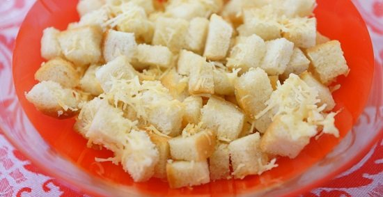сухарики в сирній паніровці