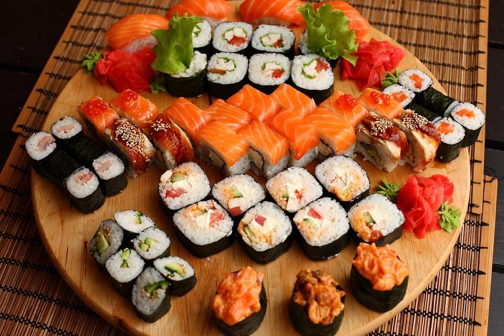 Сочный сет для любителей японской кухни