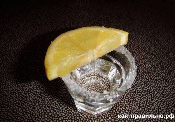 Текіла з лимоном