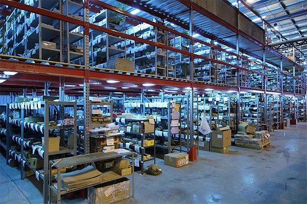 Система видеонаблюдения на складе